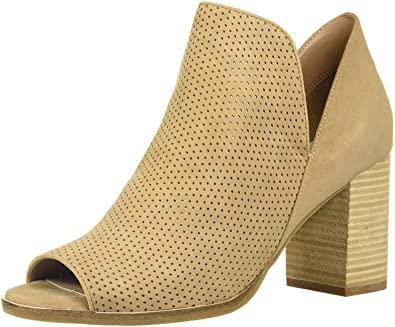 Amazon.com | Cole Haan Women's Shiloh Open Toe Bootie (75mm) Ankle .