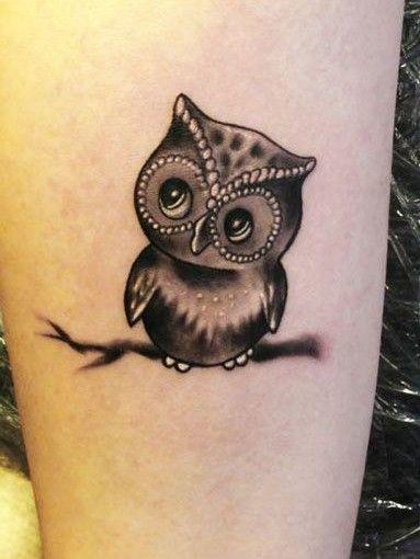 50 Best Owl Tattoo Design Ideas vol.2 | Cute owl tattoo, Small .