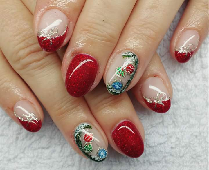 47 Peppy Christmas Nail Designs To Be Up On The Holiday Style .