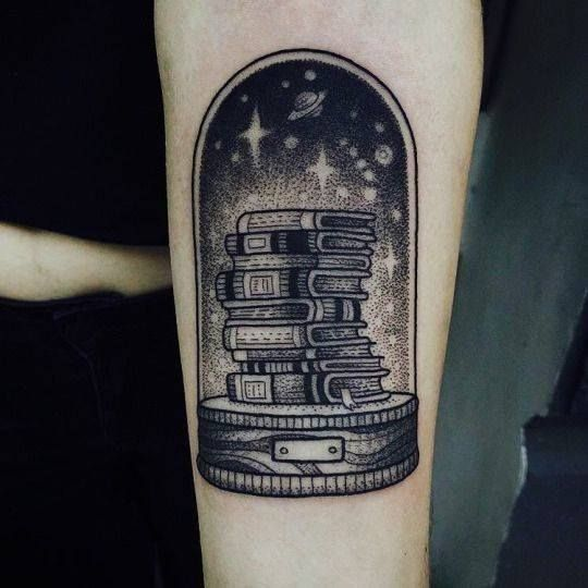 Quirky and Unique Literary Tattoo Perfect for Bookworms   Bookish .