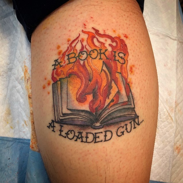 36 Perfect Book Tattoos Every Book Lover Can Resonate With   Book .