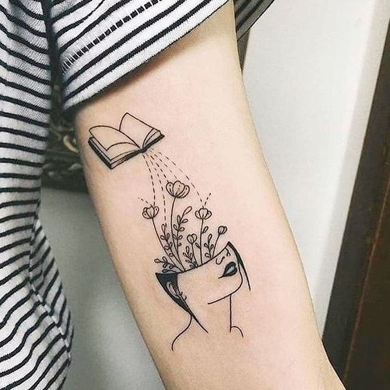 100+ Perfect Book Tattoos Every Book Lover Can Resonate Wi