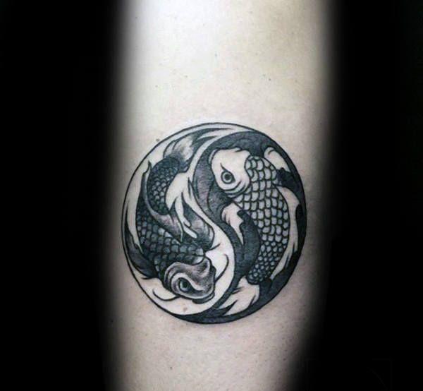 60 Pisces Tattoos For Men - Astrology Ink Design Ideas | Pisces .
