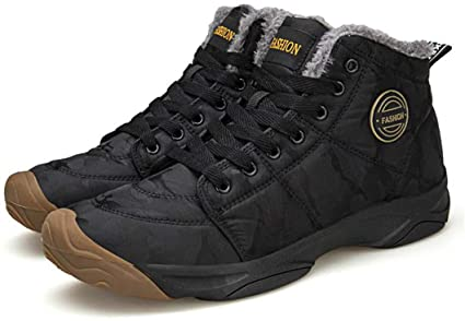 Amazon.com: Sserferd Men Boots Fashion Quality Winter Snow Plush .