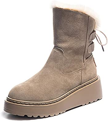 Plush Ankle Boots