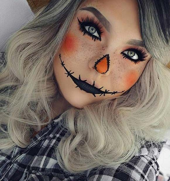 63 Cute Makeup Ideas for Halloween 2020 | StayGlam | Pretty .