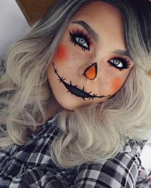 Check latest halloween makeup easy simple cute, halloween makeup .
