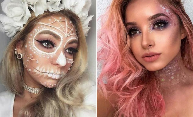 43 Pretty Halloween Makeup Ideas for 2020   StayGl