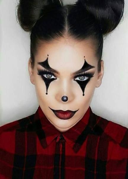 Makeup Easy Kids 32+ Ideas | Halloween makeup clown, Cute .