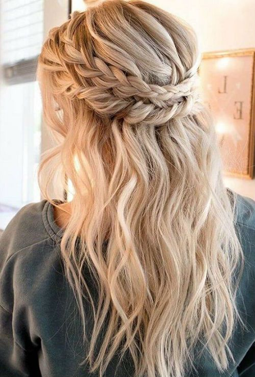 All Time Best Rope Braided Long Hairstyles for Prom | Hair and .