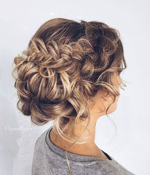 31 Most Beautiful Updos for Prom | StayGlam | Braided hairstyles .