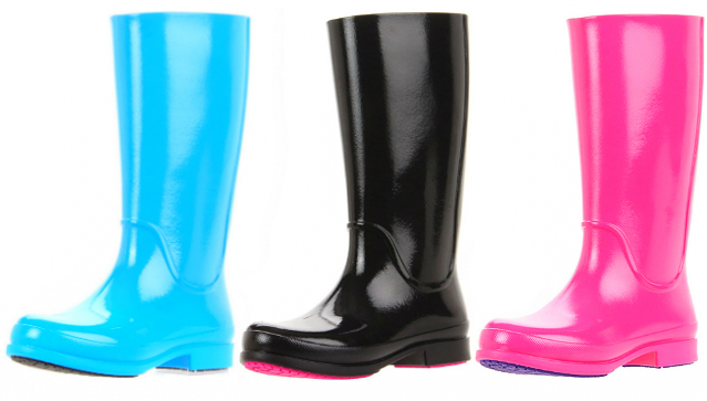 Rainy day chic with Crocs rain boots & sneakers | Her World Singapo