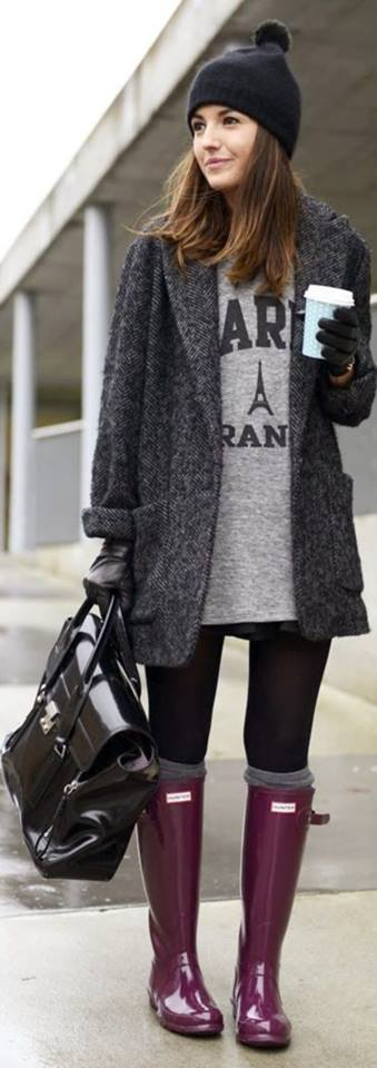 45 Fashionable Rainy Day Outfit Ideas to Create a Sparkling Sty
