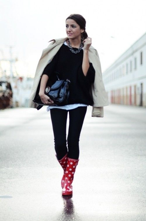 20 Fashionable Rainy Day Outfit Ideas For Women | Styleoholic .