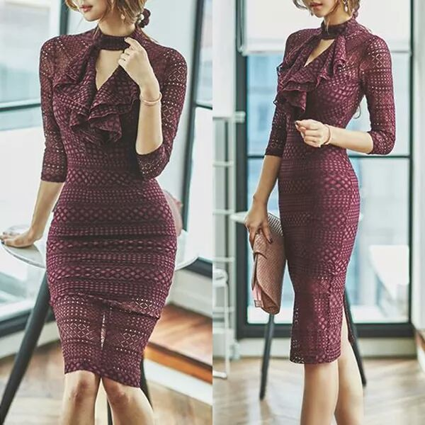 46 Ravishing Sheath Dresses to Accentuate Your Curves and Set You .