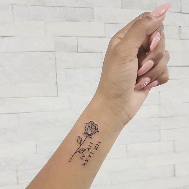 Best Roman Numeral Tattoo Ideas   POPSUGAR Beau