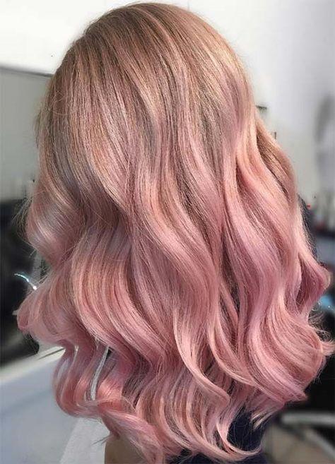 hairiz.com | Rose gold hair dye, Hair color rose gold, Gold hair .