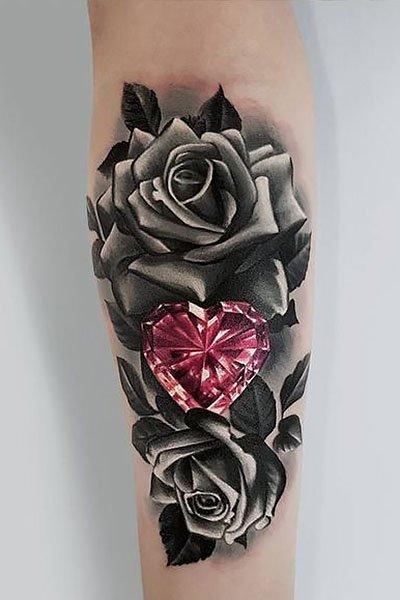 35 Gorgeous Rose Tattoo Ideas for Women - The Trend Spott