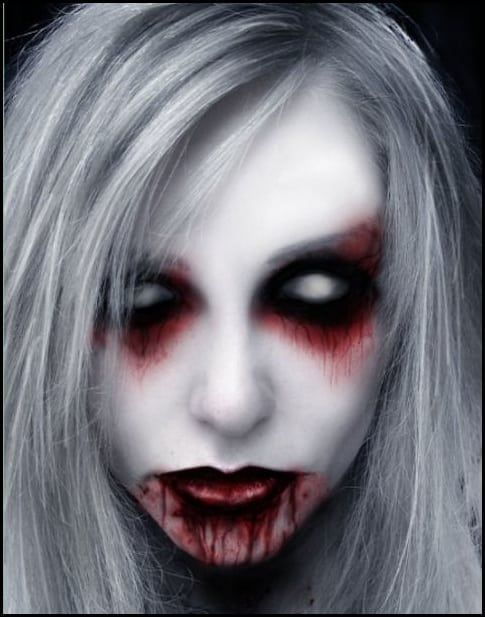 Scary Halloween Makeup   20 Scary Halloween Makeup Ideas for .
