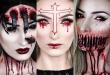 20 scary halloween makeup ideas #halloweenmakeupeasy .