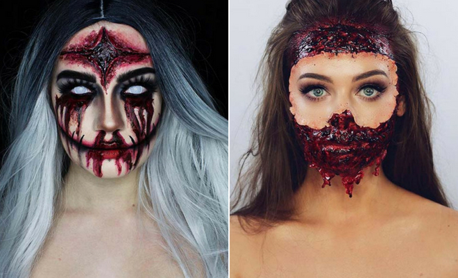 43 Scary Halloween Makeup Ideas for 2019   StayGl