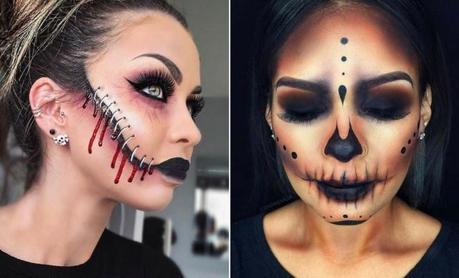 21 Creepy Halloween Makeup Ideas   StayGl