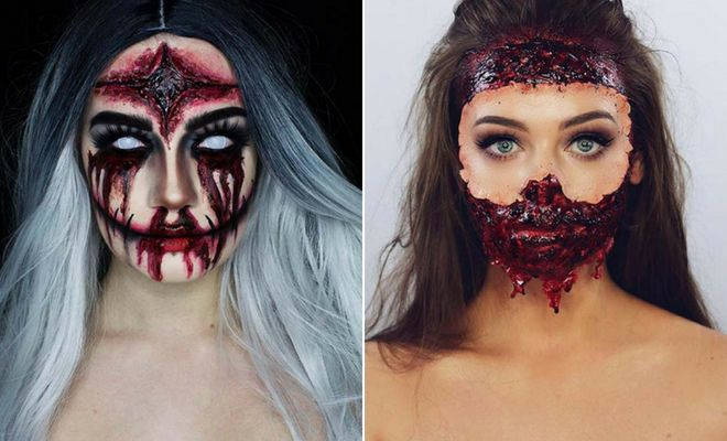 23 Scary Halloween Makeup Ideas for 2018   Page 2 of 2   StayGlam .
