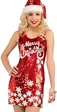 Amazon.com: Forum Novelties Women's Plus Size Racy Sequin Merry .