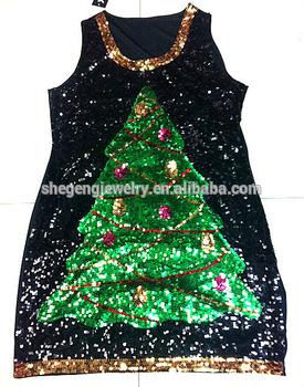 Christmas Tree Sequin Dre