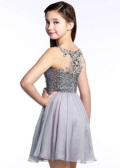 Lexie by Mon Cheri TW21542 Tween Sequined Short Dress | Dance .