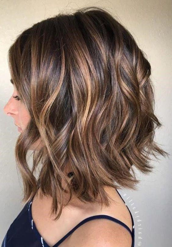 Short Hair Highlights | Hair Color Ideas For Short Hair 2020 .