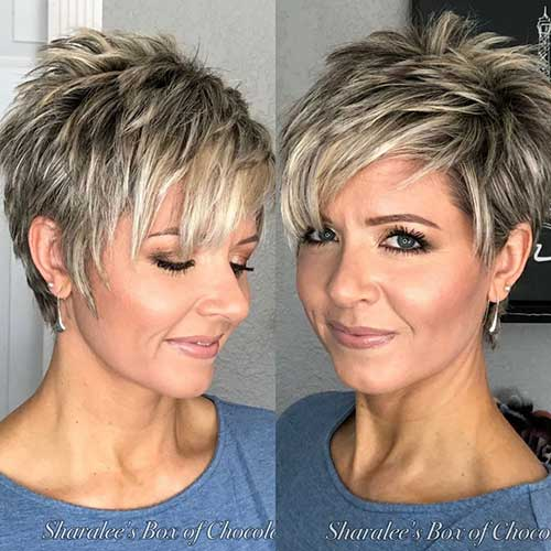 30 Best Short Hairstyles for Women Over 50   Short-Haircut.c