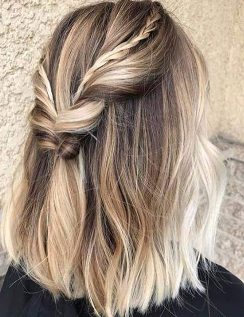 20 Stunning DIY Prom Hairstyles For Short Ha