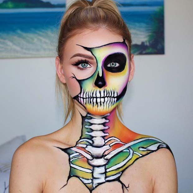 41 Unique Halloween Makeup Ideas from Instagram | StayGlam .