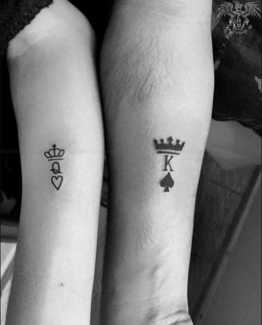 Couple Tattoos   Small couple tattoos, Cute couple tattoos .