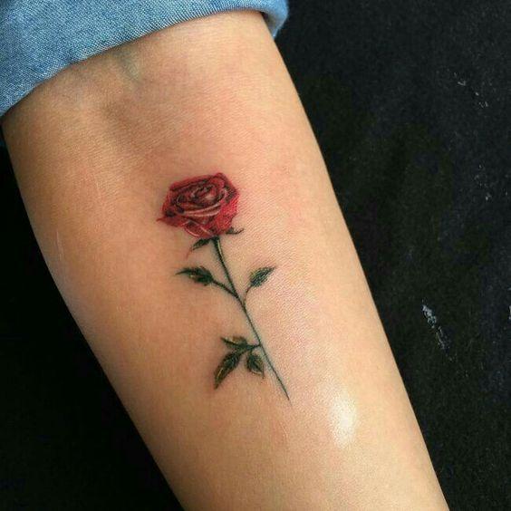 flower tattoos; rose tattoos; beautiful tattoos; wrist tattoos .