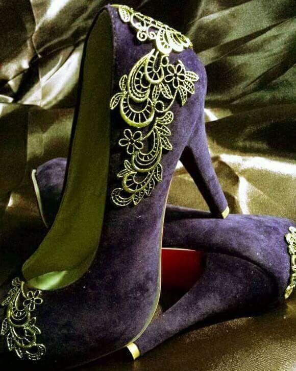 45 Smart DIY Shoe Makeover Ideas to Make Them All Anew | Shoe .