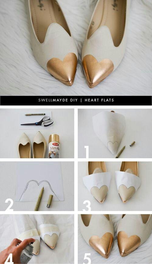 DIY Projects: Pretty Flats for the Season - Pretty Designs | Shoe .