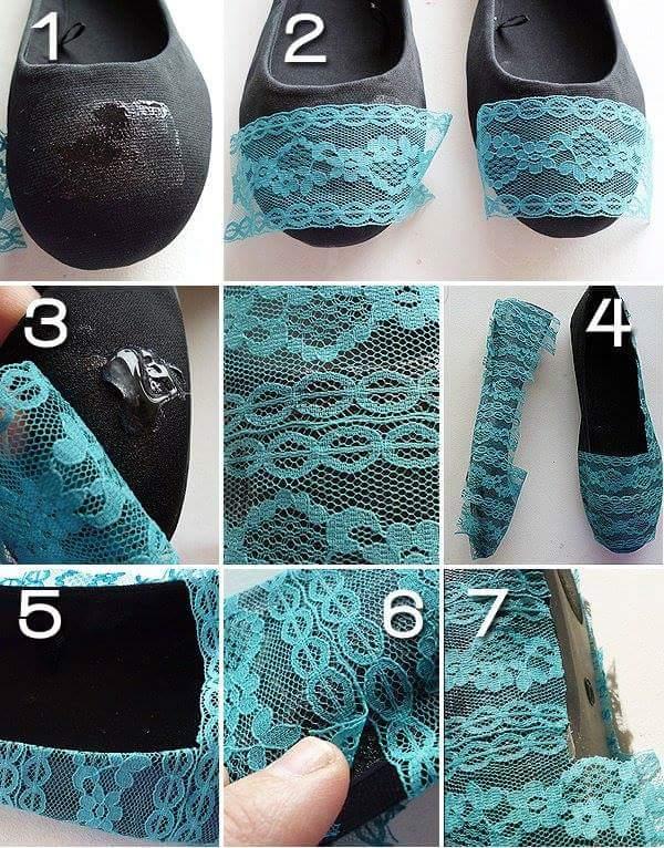 45 Smart DIY Shoe Makeover Ideas to Make Them All An