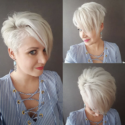 Best New Pixie Haircuts for Women   Short blonde haircuts, Short .