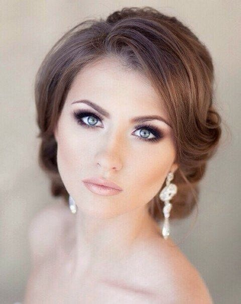 32 Bridal Smokey Eye Makeup Ideas | Amazing wedding makeup .