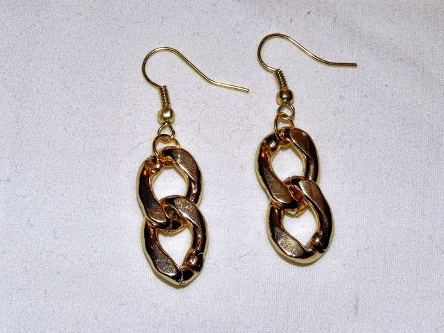 DIY ~ Chain Link Earrings | Smart n Snaz