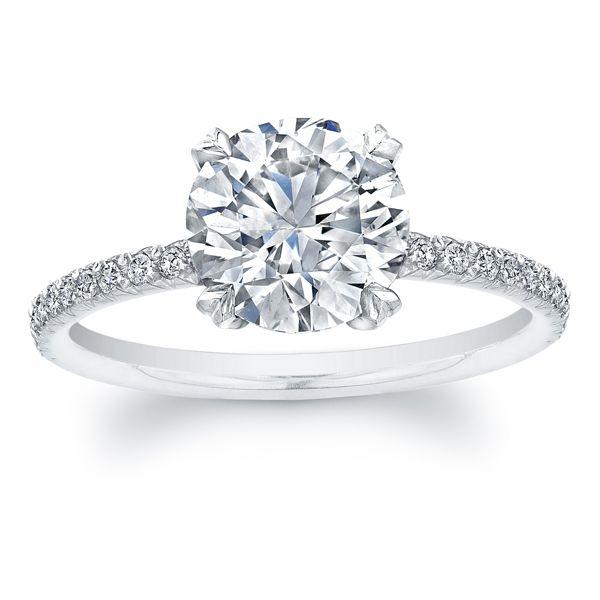 Pin by Shea Turner on Wedding ideas   Round diamond engagement .