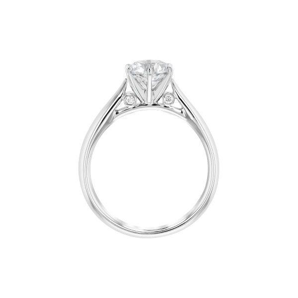 Designer Solitaire Engagement Ring 001-100-00550   J. Thomas .