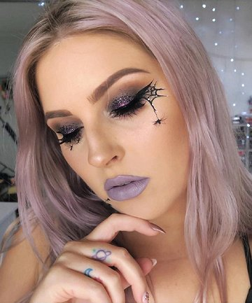 Realistic Spider Makeup by Shaaanxo, These Halloween Makeup Ideas .