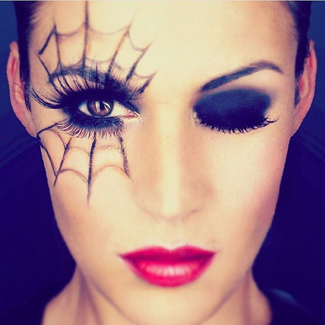 Pin for Later: 25 Spiderweb-Themed Makeup Ideas That Will Turn .