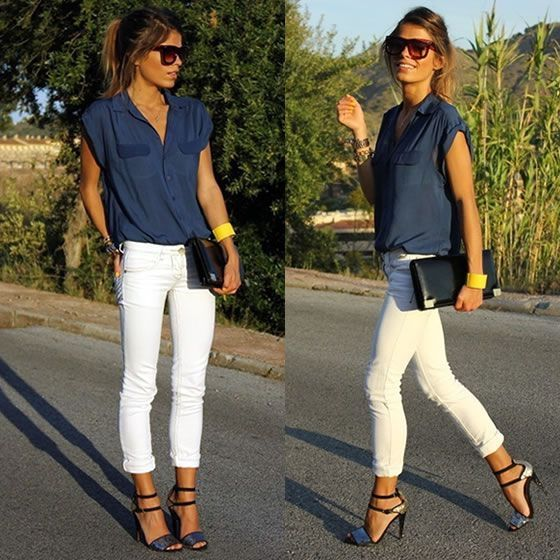 70+ Spotless White Jeans Outfit Ideas and Styling Tips   Fashion .