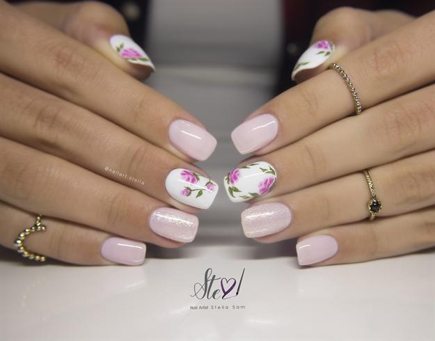 Spring nails - Nail Art Galle