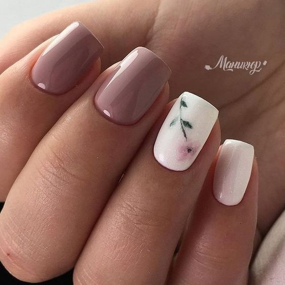 100 Trending Early Spring Nails Art Designs And colors 2019 .