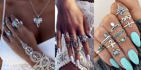 Stunning Jewelry Ideas for Pretty Boho Hands!   Jewelry, Stunning .